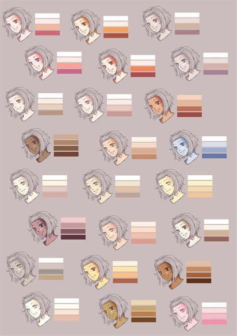 1000 images about characters skin tones on