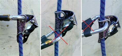 ls4897 rope basic top setup for top rope soloing with the petzl basic ascender