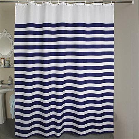 horizontal striped shower curtain welwo shower curtains nautical stripes striped shower