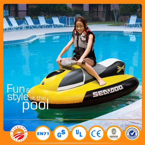 barbie pool boat funny china cheap inflatable used motor boat mini jet ski