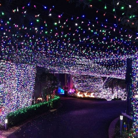 led solar string lights 100 led purple light indoor outdoor wedding
