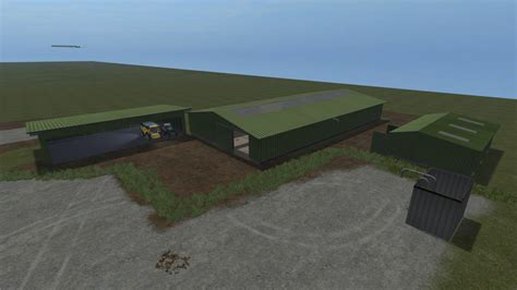 grune hallen stall v1 0 ls17 farming simulator 2017 17 ls mod
