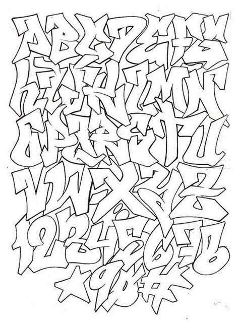A To Z Search Graffiti Alphabet Letters A Z Styles The Best Letter Sle