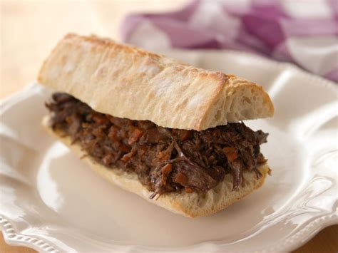 short rib sandwich ree drummond meat recipes the pioneer woman hosted by
