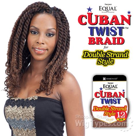 cuban hair twist freetress equal synthetic braid cuban twist braid 12