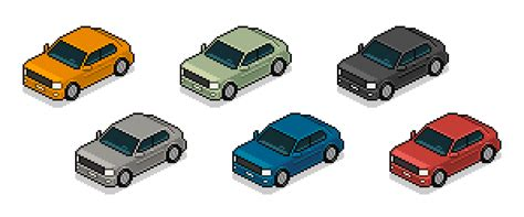 pixel car png how to create an isometric pixel art vehicle in adobe