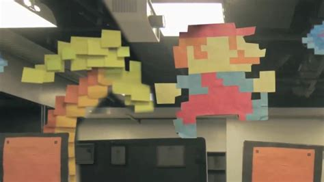 Kong And Post It Notes Form Classic Work Of by How To Make A Using 7000 Post It Notes Videomaker