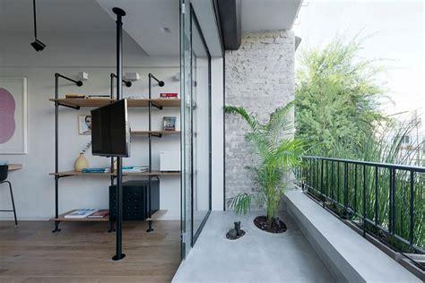 custom space saving partitions transform tiny apartment