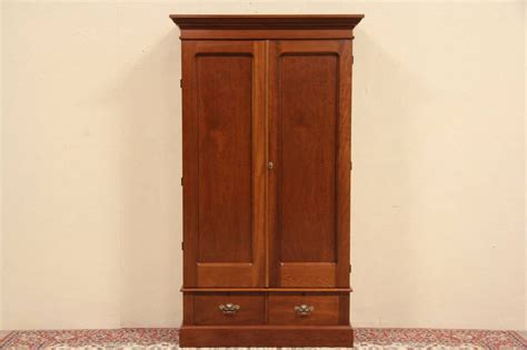 cherry armoire wardrobe eastlake 1880 antique cherry armoire or wardrobe