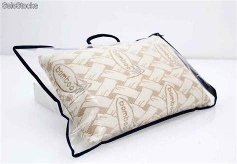 almohadas bamboo almohada de viaje viscoelastica con funda bamboo