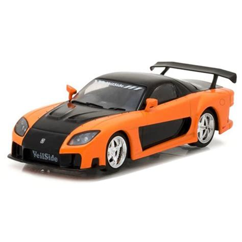 mazda in tokyo drift fast and furious tokyo drift mazda rx 7 die cast vehicle