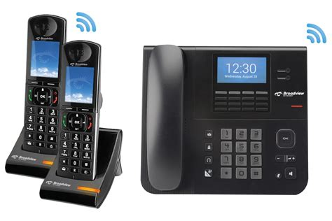 cordless office phone w 3 way conferencing id more