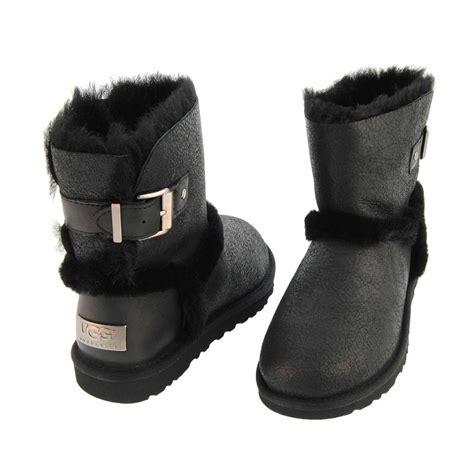 1008144 black boots ugg airehart paula alonso shop