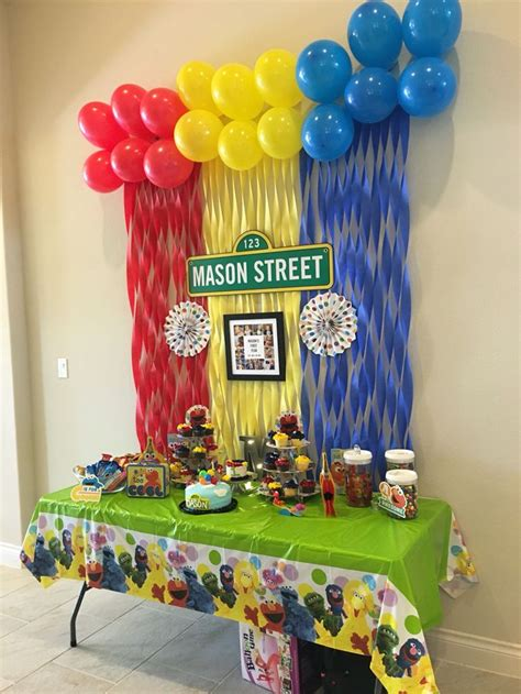 2nd birthday decorations at home 25 best ideas about sesame streets on pinterest elmo