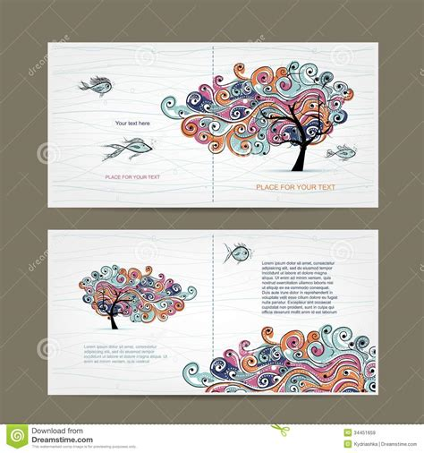 free graphic design stock photo file page 10 print design cover and inside page with wavy tree stock