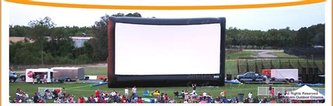 inflatable backyard movie screen southern outdoor cinema inflatable movie screen rentals