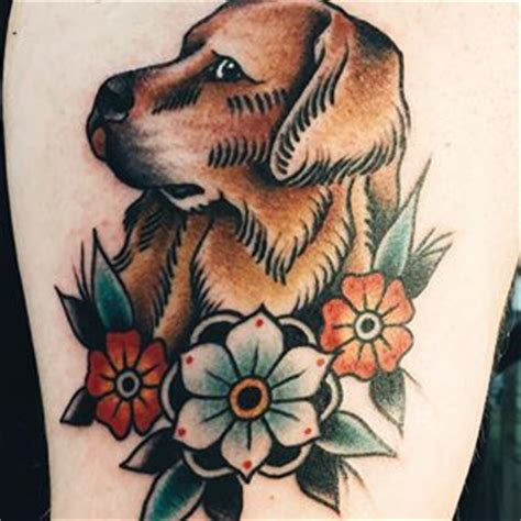 golden retriever tattoo 287 best images about tattoos on