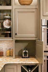 Appliance Cabinets Kitchens creative ways to hide your small kitchen appliances