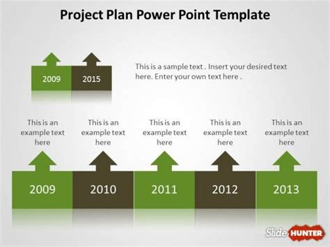 powerpoint project template free project plan powerpoint template