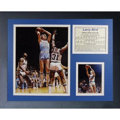 legends  die larry bird indiana framed memorabilia