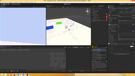 unity tutorial event unity playmaker tutorial trigger event action