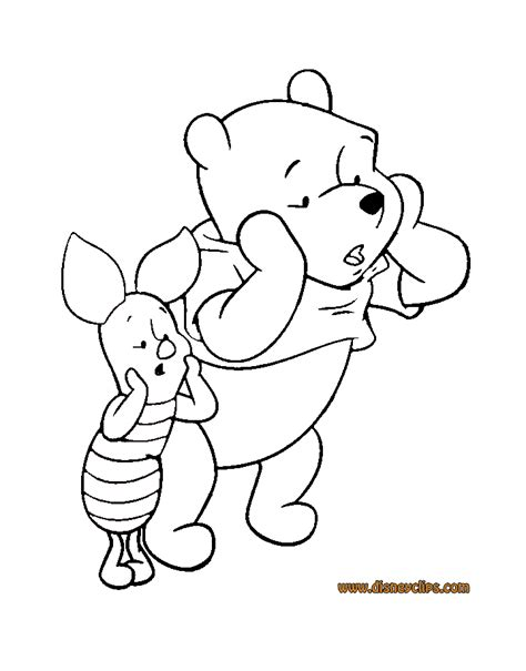 winnie the pooh friends coloring pages 2 disney