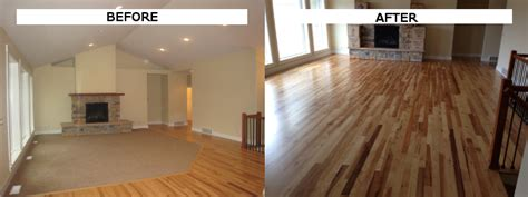 replacing hardwood floors how to change carpeted stairs to hardwood home the honoroak
