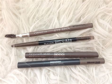 Silkygirl Expert Brow Slim Liner drugstore eyebrow pencil review catrice in2it silkygirl