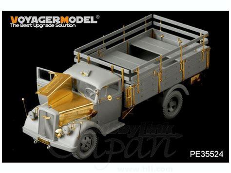 german opel blitz truck 1 35 wwii german opel blitz 3t 4x2 cargo truck shallow