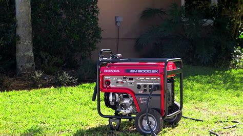 connecting a generator to your home honda generators