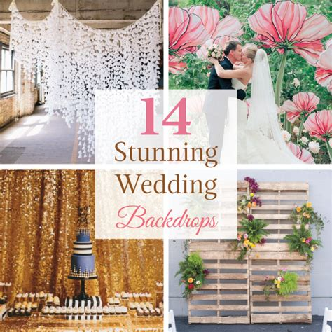 Wedding Backdrop Linen by 14 Stunning Wedding Backdrops Linentablecloth
