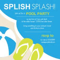 Pool Invitations Free Templates by Pool Invitations Templates Free Theruntime