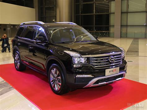 gac trumpchi gs large suv  sale   world automobile china auto blog