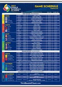 Calendario Mlb 2017 Revelado El Calendario Iv Cl 225 Sico Mundial De B 233 Isbol