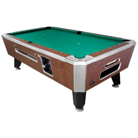 how much does a valley coin operated pool table weigh