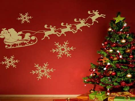 apartment theme ideas christmas wall decoration ideas