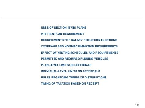 section 457 of the internal revenue code 2015 10 29 457 plan misconceptions clarified