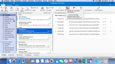 Office 365 Mail Client Mac Office 365 Outlook Kategorien 28 Images Office 2016 F