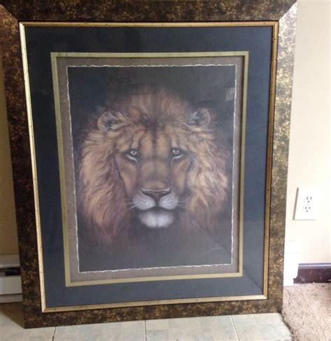 Home Interior Lion Picture | home interior frames home design