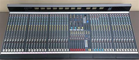 Mixer Allen Heath Gl3300 allen and heath gl3300 40 channel mixer reverb