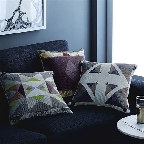 Triangle Pillows For Sale by Alyson Fox Beaded Triangle Pillow Cover West Elm