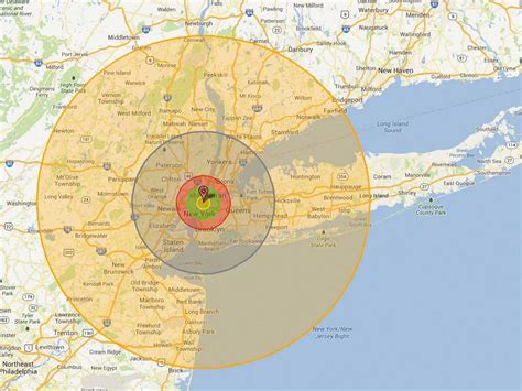 washington dc nukemap this scary interactive map shows what happens if a nuke