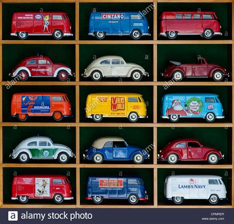 Matchbox Vw Safari matchbox die cast volkswagen vans and beetle cars in a