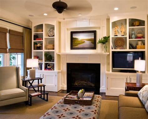 Asymmetrical Built In Bookshelves Houzz Houzz Built In Bookshelves