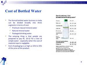 bottled water business in india