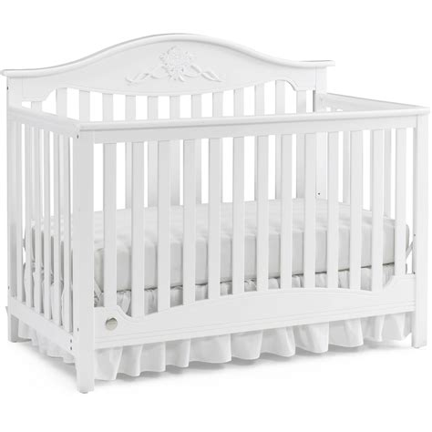 Storkcraft Princess 4 In 1 Fixed Side Convertible Crib White Storkcraft Princess 4 In 1 Fixed Side Convertible Crib White Pacific 4in1 Convertible Crib And