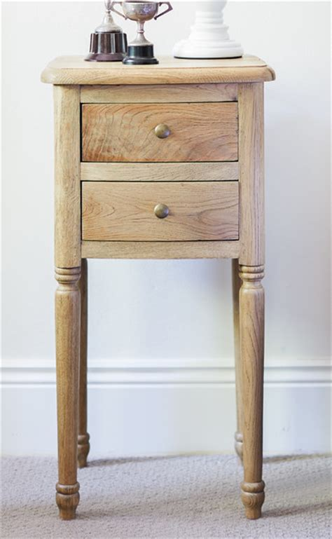 Small Bedside Tables | small oak bedside table traditional nightstands and