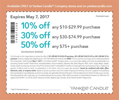 printable yankee candle coupons december 2017 current yankee candle printable coupons save money on