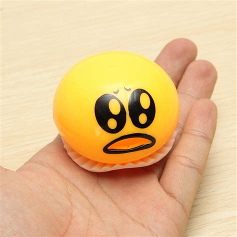 gudetama muntah slime squishy anti stress orange jakartanotebook