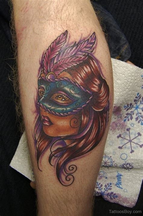 masquerade mask tattoo designs mask tattoos designs pictures page 2